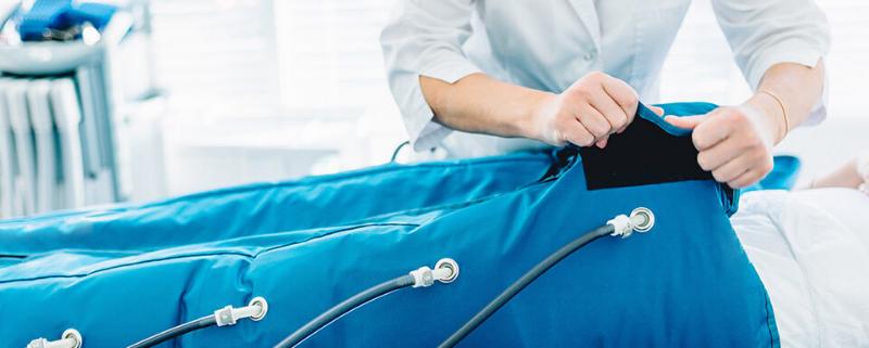Pressoterapia: cos'è e come usarla in campo medico
