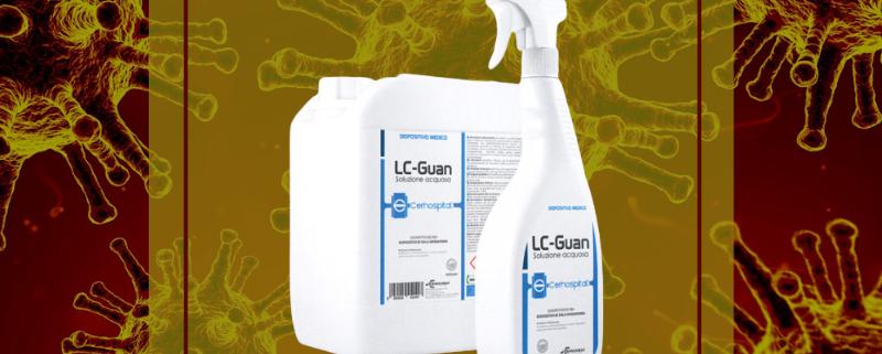 Disinfettanti spray: LC-Guan contro il Covid-19