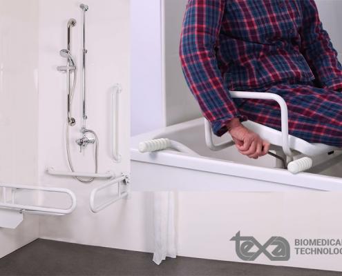 Ausili doccia per anziani e disabili: tutto ciò che serve per un maggior comfort